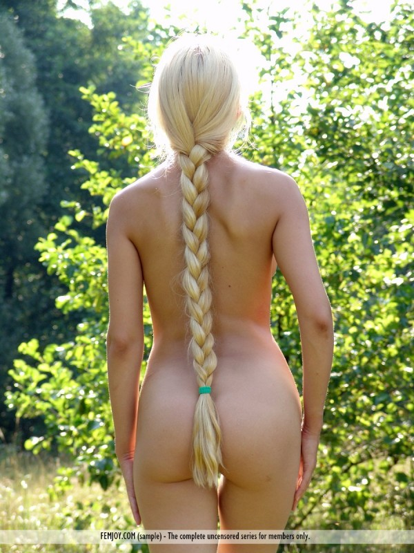 Nude teen women braids